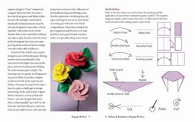 Paper Flower Folding Books Kinokuniya Origami Flowers Kit Lifelike Paper