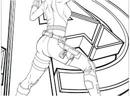 Coloring Pages Winter Soldier Coloring Pages Captain The Color