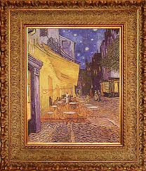 Vincent Van Gogh. <b>Cafe Terrace at</b> Night. Hand embroidery designs ...