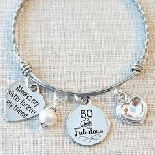 sister gift 50th birthday gift milestone birthday gifts for sister 50 and fabulous