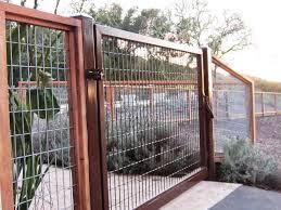 black welded wire fence.  Welded Welded Wire Fence Gate To Black E