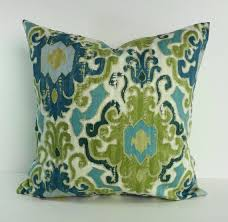 Teal Green Decorative Pillows