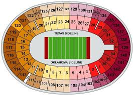Ou Texas Seating Chart 56 Always Up To Date Ou Seating