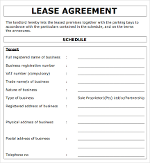 Rental Contract Template Word Rental Agreement Format Rental Agreement Format Word Pdf