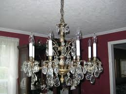 brass and crystal chandeliers dining crystal chandelier for decor large vintage brass and crystal chandelier traditional