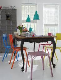 Colorful Dining Room Tables Impressive Decorating Design