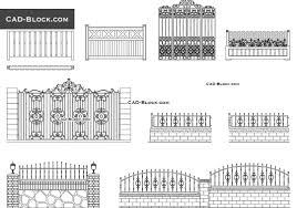 farm fence drawing. Gates \u0026 Fences - Download Free CAD Block Farm Fence Drawing