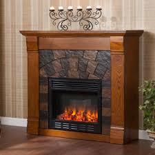 corner electric fireplace sei elkmont m electric fireplace antique oak