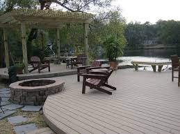 Fire Pit On A Wood Deck Lovely 100 [ Building A Rock Fire Pit ]