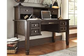 desk office home. Townser Home Office Desk With Hutch Ashley Furniture HomeStore Inside Ideas 2