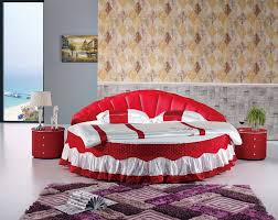 Popular Round Leather Bed Buy Cheap Round Leather Bed Lots From