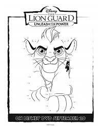 Small Picture Disney Lion Guard Printable Coloring Page Mama Likes This