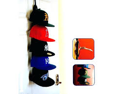 hooks on the wall hat rack ideas diy cap holder aqreativeco baseball hard hats wallingford ct