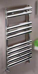 MHS Oval Brushed Or Polished Stainless Steel Towel Radiator by MHS