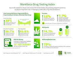 Steadily Drug Sbc Rising Use Workplace Magazine Infographic