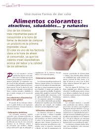 Alimentos Color Antes Tecnifood Artculo