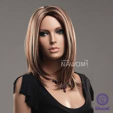 European Hair Style hair waves long blond&brown women hairnawomi brand kanekalon wig 8514 by wearticles.com