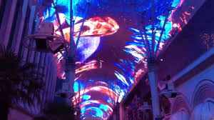 Sky Light Show Las Vegas Fremont Street Experience Sky Light Show