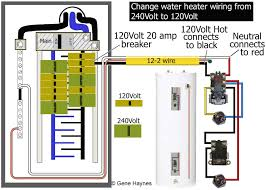how to wire water heater for 120 volts endearing enchanting wiring circuit breaker box wiring diagram at Wiring Breaker Box Diagram