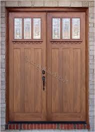craftsman double front door. Craftsman Double Doors Ac608 Exterior Front Door S