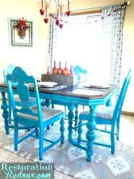 Colorful Dining Room Tables Impressive Inspiration