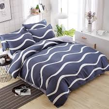 2018 home spun soft bed stripe coffee worm bedding sets kid bedlinen 3 couple duvet for boys girls bedding set duvet covers full size comforters