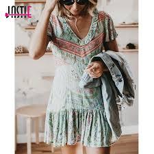 City Lights Clothing Store Jastie City Lights Mini Dress Frill V Neck Short Sleeve