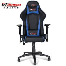 Office Chair Leather Amazoncom Gt Omega Pro Racing Office Chair Black Next Blue