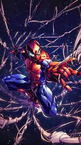 Spider-Man Web Marvel Superhero 4K ...