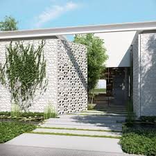 Modern Homes Main Entrance Gate Designs Ando Studio Modern Home And Luxury Apartment Renderings