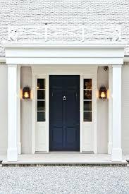 exterior door sidelite navy front door exterior door sidelights transom
