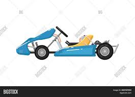 Go Kart Car Design Go Kart Isolated Icon Image Photo Free Trial Bigstock
