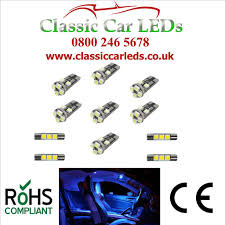 Astra Lighting Limited Vauxhall Astra J Interior Lighting 11 X Led Upgrade Kit Various Colour Options