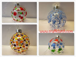 you will need clear glass ornaments