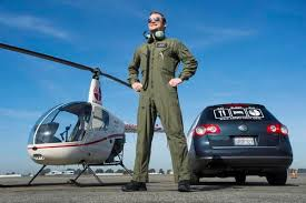 Flight School Flourishes At John Wayne Helicopter Lessons Are Up As
