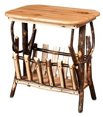 Small Holder Magazine Inspiration End Table With Magazine Rack Narrow Small Holder Markchambersmusic