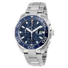 tag heuer watches jomashop tag heuer aquaracer chronograph automatic men s watch
