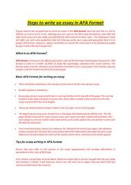 essay expert by makemyessay issuu steps to write an essay in apa format if your teacher has assigned you to write an essay in the apa format don t be worried it is not as difficult as it