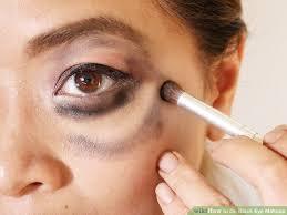 make up tutorial you image led do black eye makeup step 17