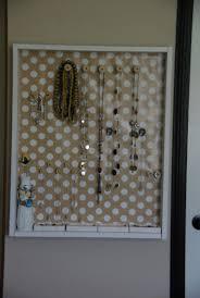 Jewelry Holder Wall Diy Wall Jewelry Holder