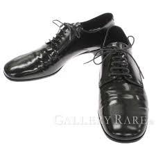 prada business shoes plane toe race up black patent leather 2ea034 prada shoes men size 9