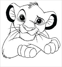 Lion Color Page Trustbanksurinamecom
