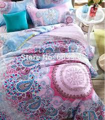 colorful paisley duvet covers images single duvet set