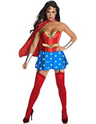 Wonder Woman Costume Pattern Custom Amazon Simplicity Creative Patterns US48H48 Misses Wonder