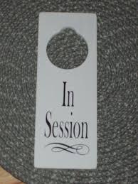 10 Best Images Of Therapy Door Hangers Massage In Session Door