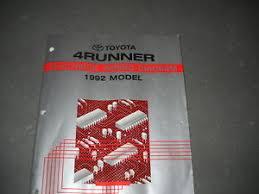 1992 toyota 4runner 4 runner electrical wiring diagram service image is loading 1992 toyota 4runner 4 runner electrical wiring diagram