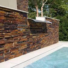 exterior wall cladding interior 3d decorative thin veneer panels