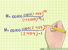 Figure Out Mortgage Payment How To Calculate Mortgage Payments With Examples Wikihow
