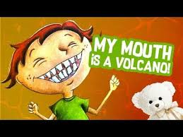 My Chart Cooks Childrens My Mouth Is A Volcano By Julia Cook Childrens Book Read