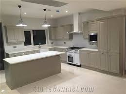 bst ice white quartz stone slab for countertops 2cm thick with